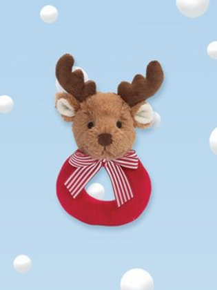Lil Reindeer Ring Rattle