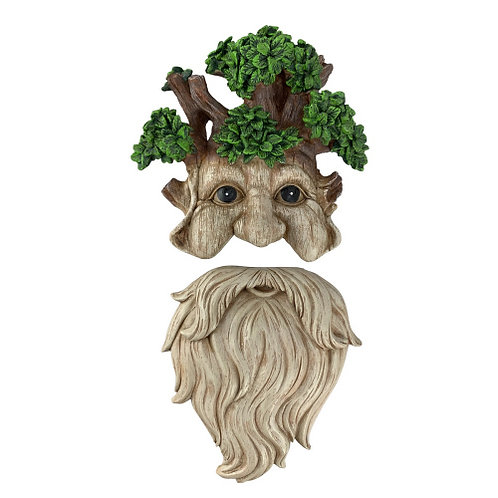 Old Man Tree Face Yard Decor