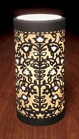 Venice Porcelain Silhouette Accent Lamp