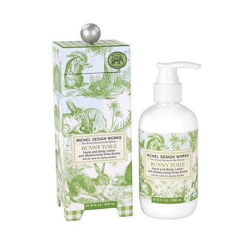 Bunny Toile Hand & Body Lotion