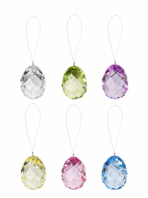 Crystal Expressions Hanging Egg