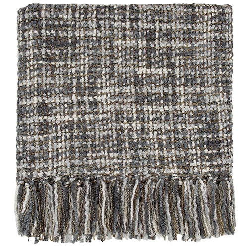 Hanover Charcoal throw Blanket