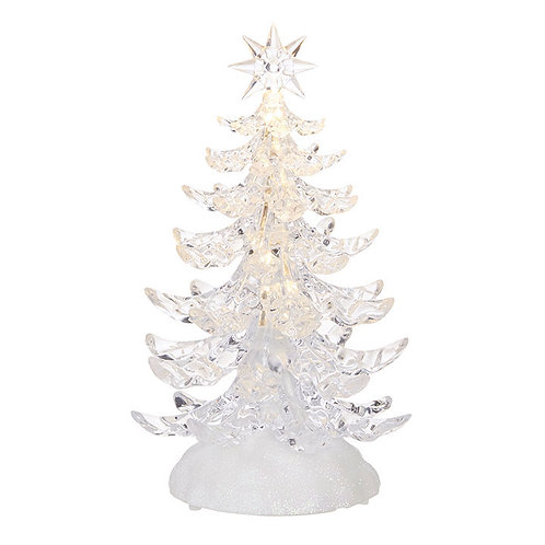 """9.5"""" Clear Lighted Tree"""