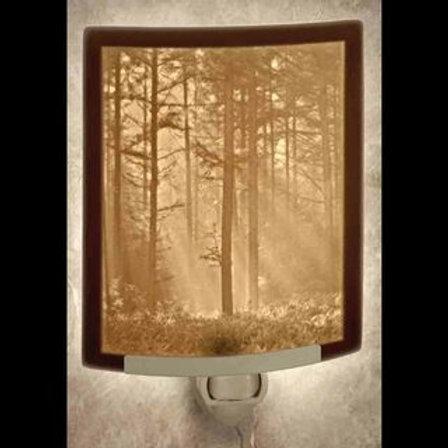 Porcelain Garden Woodland Sunbeams Night Light