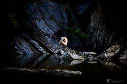 Minimalist Nude Art @ the river (CH)