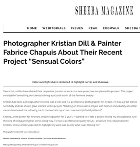 Sheeba Magazine interview Kristian Dill & Fabrice Chapuis