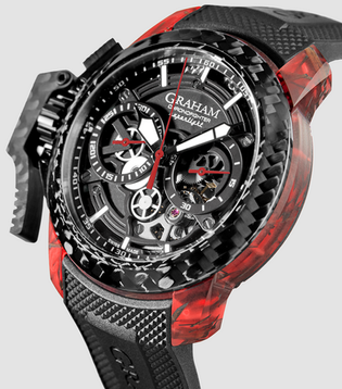 Graham superlight skeleton watch