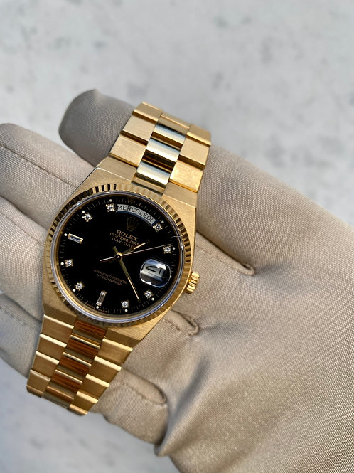 Rolex Day-Date Oysterquartz FACTORY DIAMOND DIAL