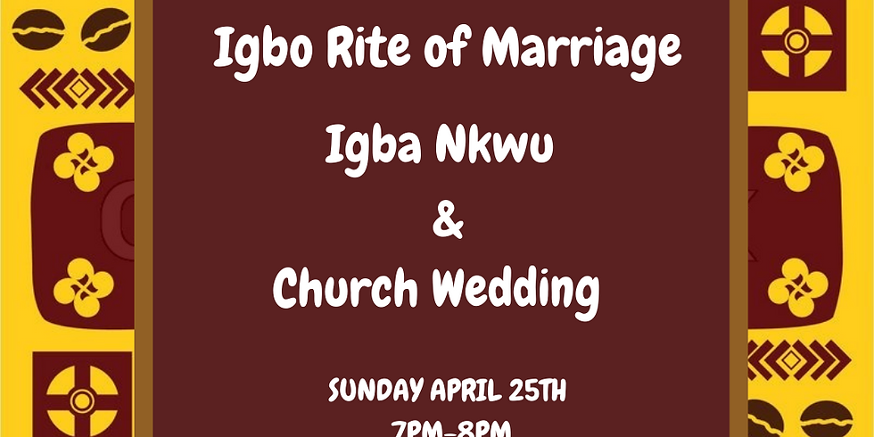 Igbo Rite of Marriage