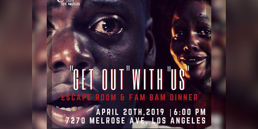 'Get Out With Us' Escape Room & FamBam Dinner