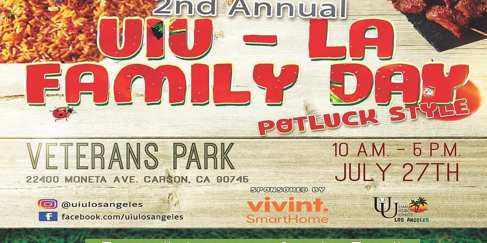 UIU-LA 2nd Annual Family Day Potluck