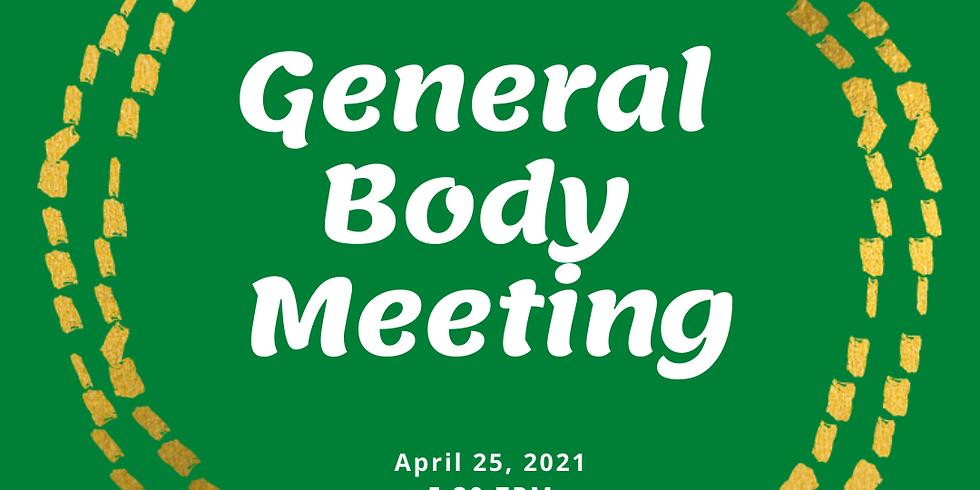 April General Board Meeting