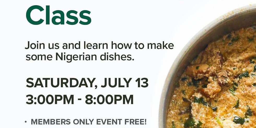 Igbo Cooking Class