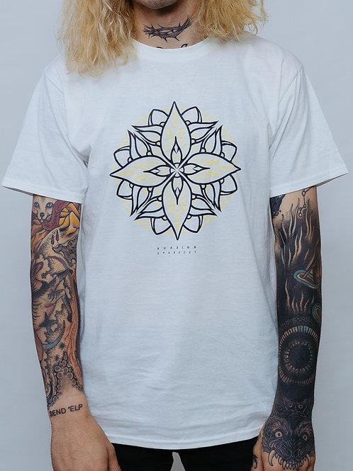 T-Shirt Mandala White UNISEX