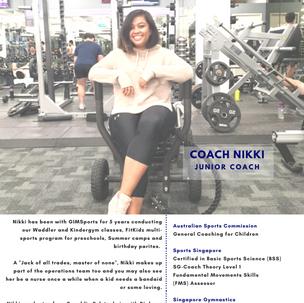 Coach Nikki