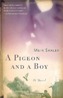 Meir Shalev A PIGEON AND A BOY cover 1.j