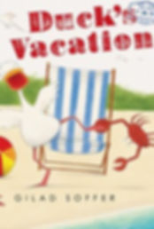 Gilad Goffer DUCK'S VACATION US cover 1.