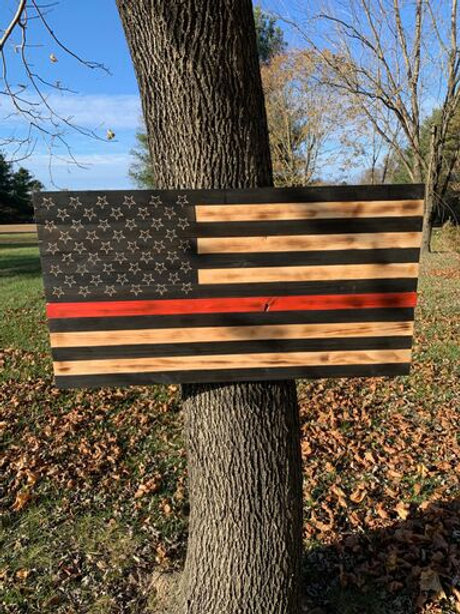 Thin Red Line Flag (Firefighter)