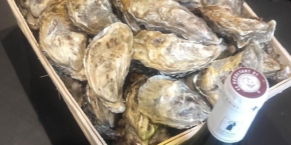 Vente d'huîtres à emporter