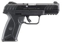 "Ruger 3341 SR9E Standard Double 9mm 4.14"" 10+1 Black Polymer Grip Blued"