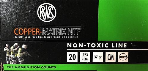 RWS Non Toxic Copper .223 Ammo