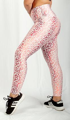 Pink Leopard 7/8 Legging