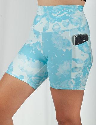 Blue Heaven Biker Short