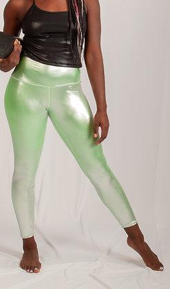 Silver Lime 7/8 Legging