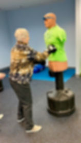 Punching out Parkinson's Rock Steady Boxing Victor