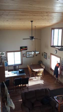 Above Dining Room