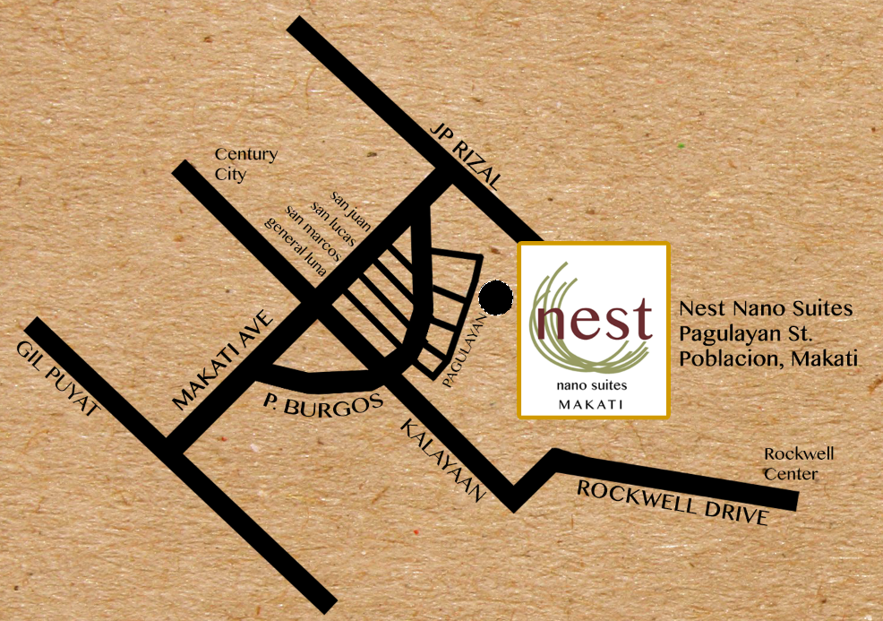 Map to Nest Nano Suites