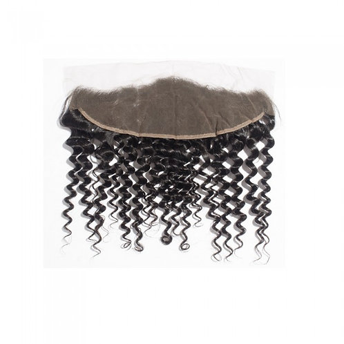"13"" x 4"" Mink Deep Wave Frontal"