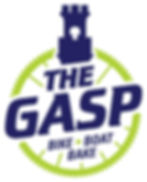 Logo for The Gasp Bike Boat Bake