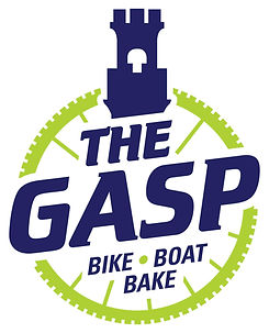 Logo for The Gasp Bike Boat Bake