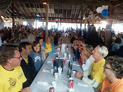Post Ride Clam Bake from The Gasp 2018