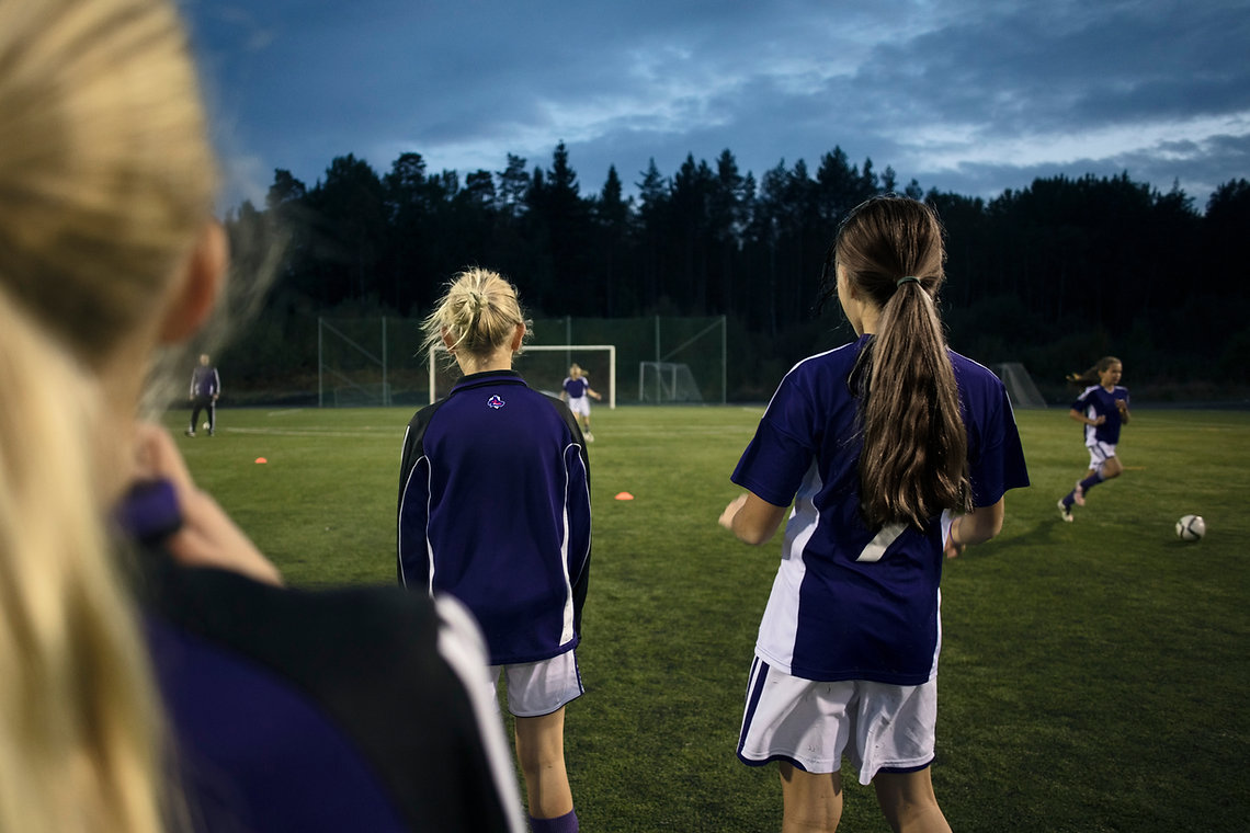 Футбол практика