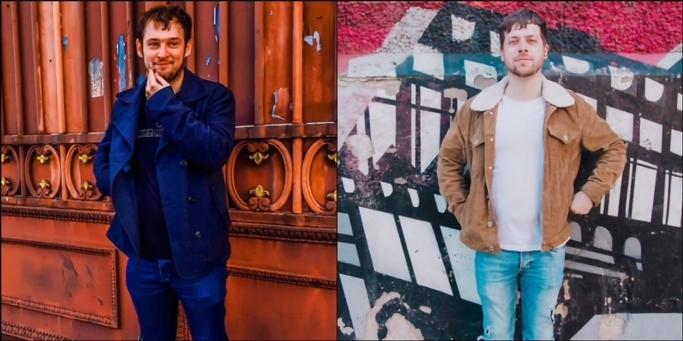Nottinghamshire/Derbyshire singer-songwriters Jake Burns & Ben Mark Smith