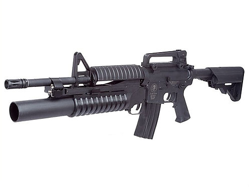 S&T M4A1 with M203 Grenade Launche