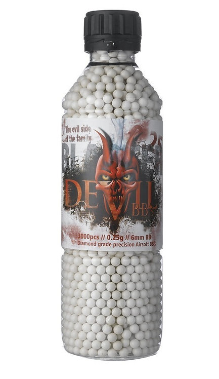 Blaster Devil 0.25g BBs Bottle of 3000 ASG