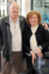 Simon & Marsha Echtekleff Founders of Arboles Barber Shop & Salon Conejo Valley Barbershop