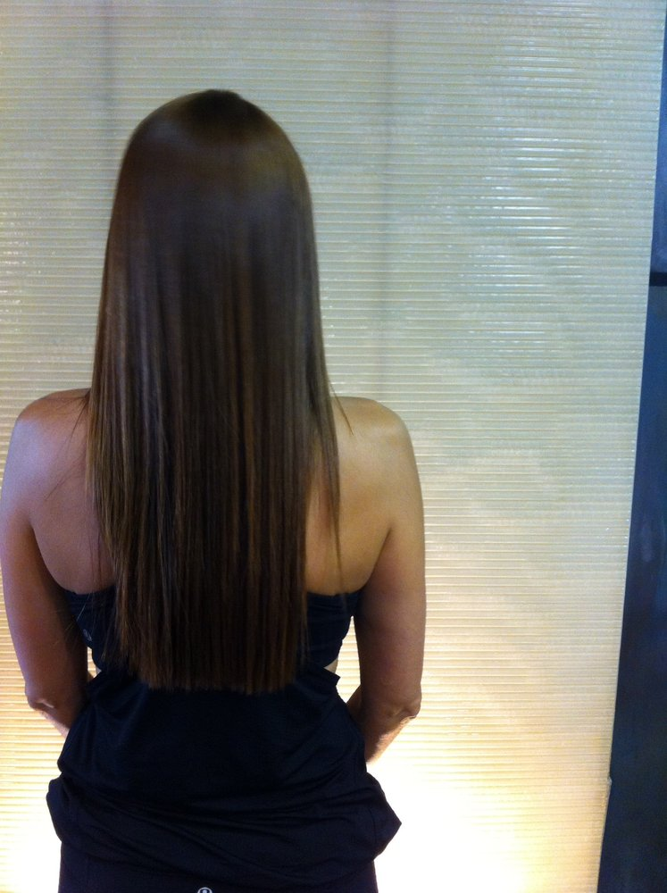 Japanese Straightening After