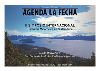 II Simposio Internacional Simbiosis Micorrícica en Sudamérica 2019