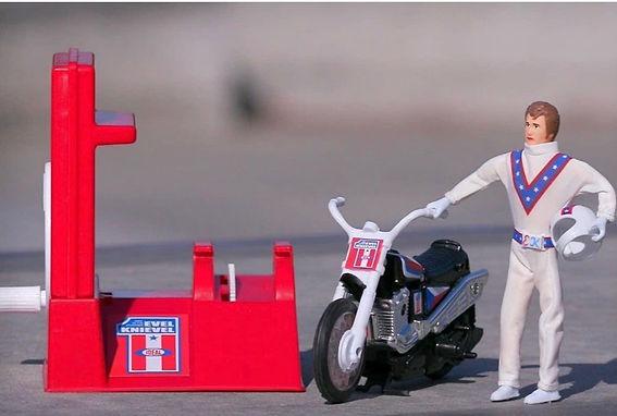 Evel Knievel Stunt Toy