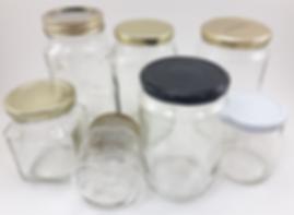 Zéro déchets - pot de vitre