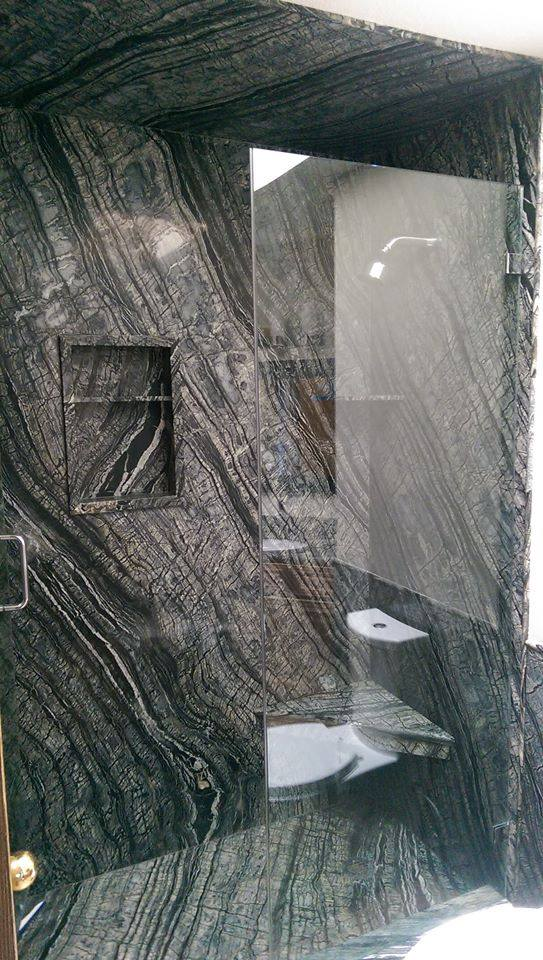 DSP_Wood Vein Marble shower
