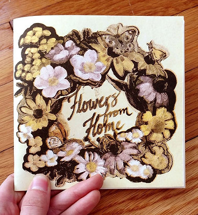 Flowers From Home...// Risograph Zine