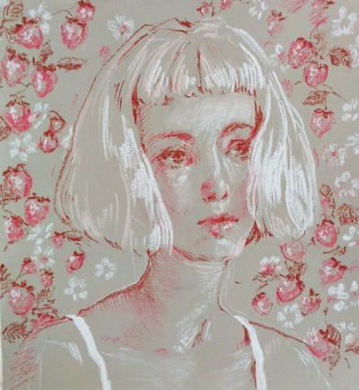 Strawberry Portrait