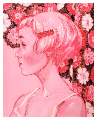 Girl with Strawberry Clip