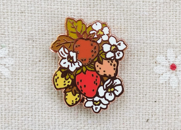 Kitsch Strawberry Pin