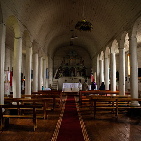 Vista interior de la Capilla